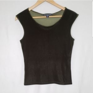 ❄ 3 for $18 Green Velvety Stretch Top Ralph Lauren